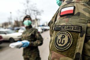Terytorialsi na pomoc w walce z epidemią