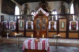 Msza święta w cerkwi greckokatolickiej w Cyganku [LIVE]