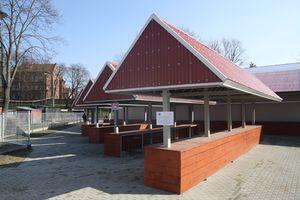 Nowe targowisko miejskie w Bartoszycach zostało otwarte