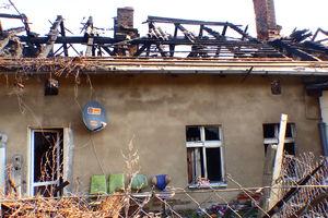 Pożar budynku mieszkalnego w Iłowie-Osadzie