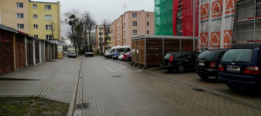Ulica Korczaka w Bartoszycach, na której pojawią się utrudnienia