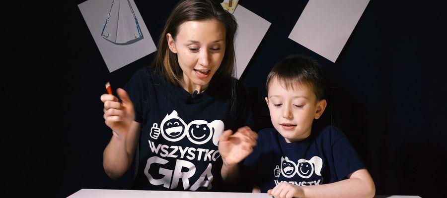 Aleksandra Grajewska z synem Piotrusiem pokazują w swoich filmach, jak się ze sobą nie nudzić