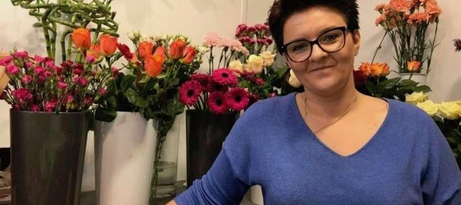 Anita Jankowska w swoim kwiatowym królestwie