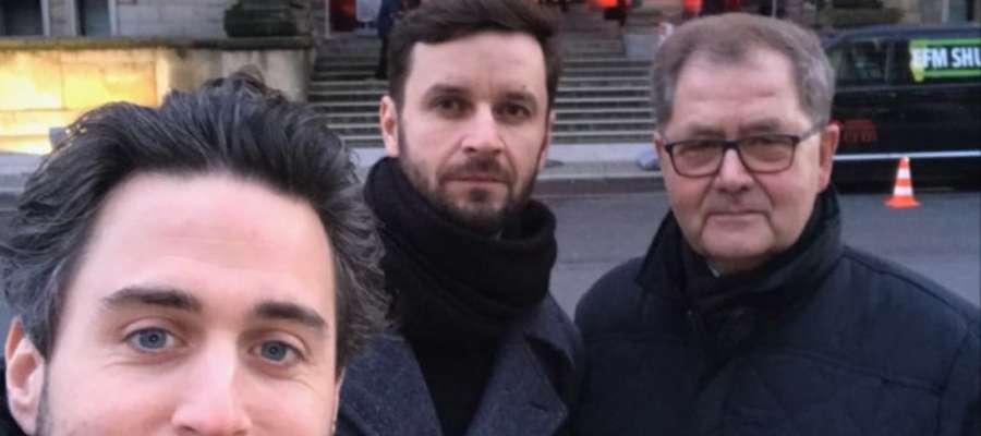 Jan Kwieciński, Piotr Domalewski, Bogumił Osiński