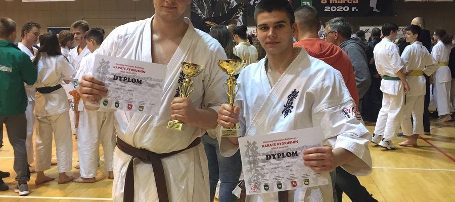 Z lewej Dawid Pażuś, obok Jakub Kwaśniewski