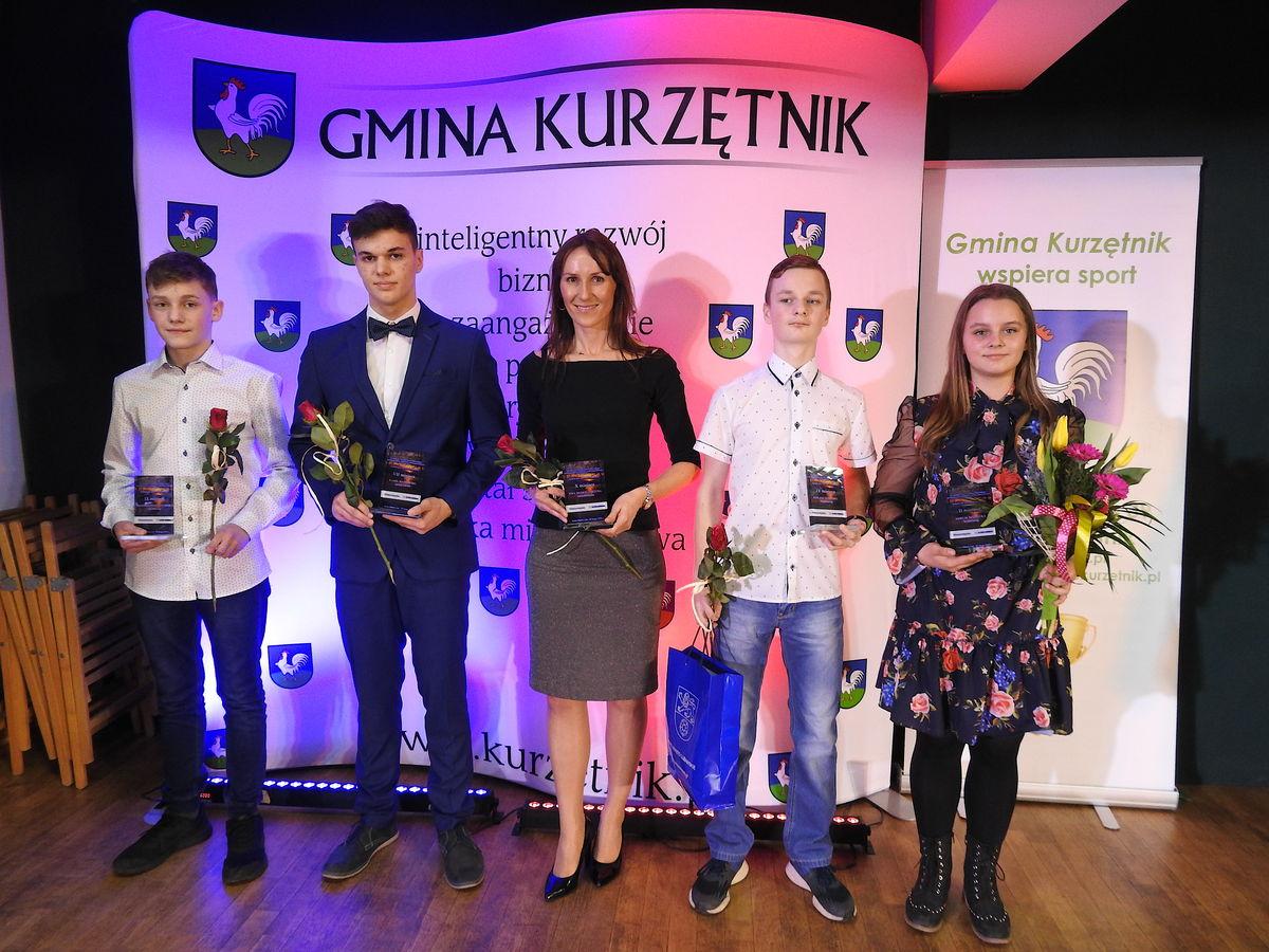 Miłosz Tessmer, Adrian Januszewski i Patryk Jankowski uhonorowani zostali na Miejskiej Gali Sportu w Nowym Mieście