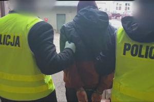19-latek z Olsztyna zaatakował policjanta szklaną butelką [VIDEO]