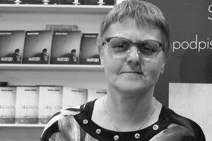 Barbara Rosiek nie żyje. Autorka