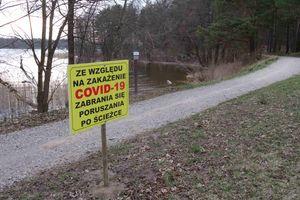 Zakaz korzystania z Wiewiórczej Ścieżki w Olecku