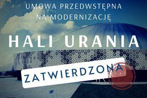Hala Urania: marszałek województwa przekazuje dobre wieści