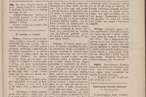 """W kwietniu 1892 r. """"Gazeta Olsztyńska"""" pisała..."""