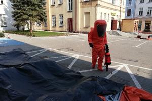Iławscy strażacy pomagali w Nowym Mieście Lubawskim