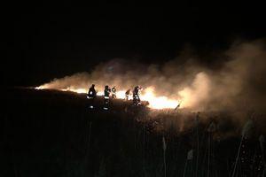 Strażacy z Mrągowa ruszyli z odsieczą do Biebrzańskiego Parku Narodowego