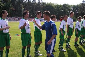 Ze sportowego archiwum (2005): mecz Kadra WMZPN — Gwiazdy w Bartoszycach