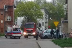 Strażacy zapobiegli pożarowi w mieszkaniu przy ulicy Pieniężnego