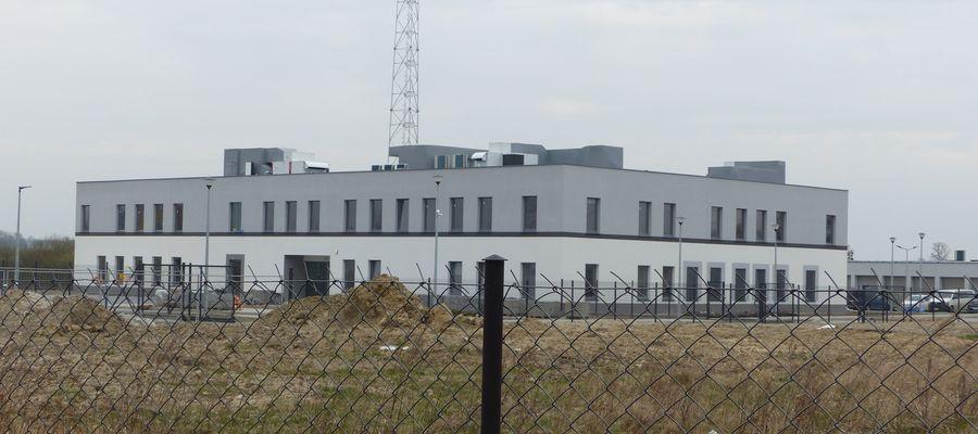 Budynek nowej Komendy Powiatowej Policji w Bartoszycach