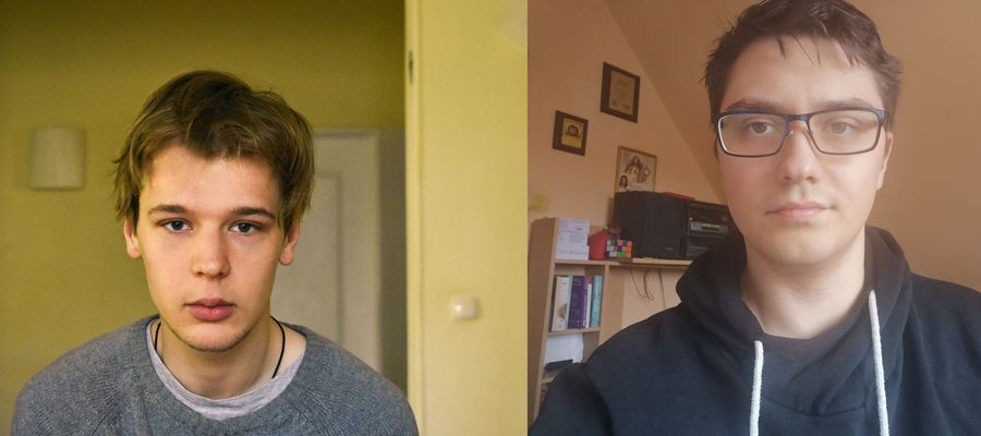 Jerzy Siwiec i Jakub Ruść są studentami kierunku lekarskiego. Jako wolontariusze pomagają w olsztyńskim sanepidzie