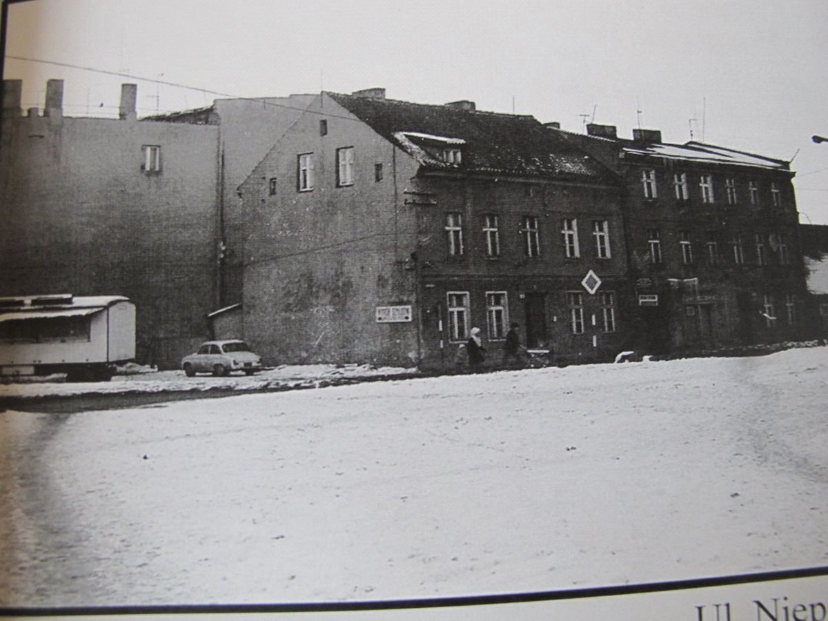 Dawny dom Markiewiczów Niepodleglosci lata 70
