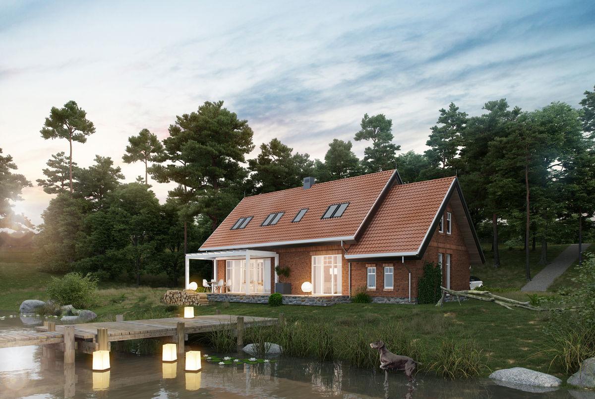 Dom nad jeziorem - full image