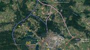 Fot. GDDKiA w Olsztynie Przedstawiony schemat ma tylko orientacyjny charakter. Rolą firmy, która wygra przetarg będzie wybór wschodniego lub zachodniego korytarza i przedstawienie jego przebiegu
