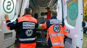 Wypadek w Zalewie. Poszkodowany trafił do szpitala [zdjęcia]