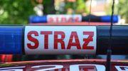 Strażacy gasili płonący kontener odzieżowy na ul. Suwalskiej