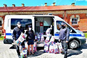 Nakrętki dla Poli z Aresztu Śledczego w Suwałkach oraz od wojsk NATO