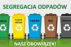 Od 1 czerwca obowiązek segregacji odpadów dla wszystkich!