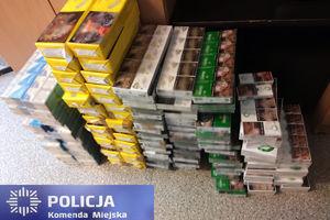 Policjanci zabezpieczyli nielegalne papierosy o wartości 23 tys. zł