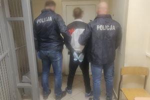 34-letni mężczyzna z Olsztyna zatrzymany za posiadanie znacznej ilości narkotyków