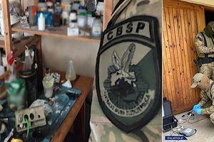 Policjanci CBŚP zabezpieczyli materiały wybuchowe. Akcję przeprowadzono także w województwie warmińsko-mazurskim [VIDEO]