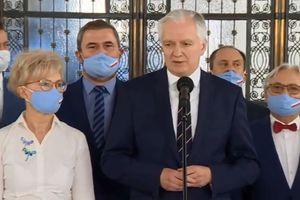 Jarosław Gowin o porozumieniu w sprawie wyborów [VIDEO]
