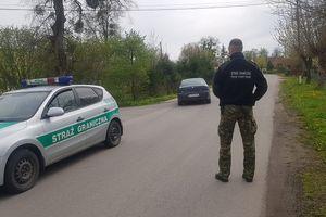 Funkcjonariusz Straży  Granicznej uniemożliwił jazdę pijanemu kierowcy