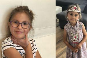 Małe Księżniczki:  Lena i Julia Wasyńczuk