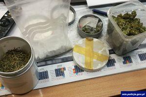 Ostródzcy policjanci zabezpieczyli znaczną ilość narkotyków i zatrzymali dwóch podejrzanych
