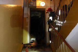 Tragiczny pożar mieszkania w budynku wielorodzinnym