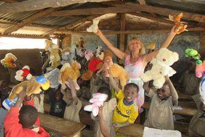 Matka chrzestna szkoły w Tchambie