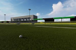 To ma być sportowa wizytówka gminy Iława. Zobacz wizualizację stadionu w Wikielcu