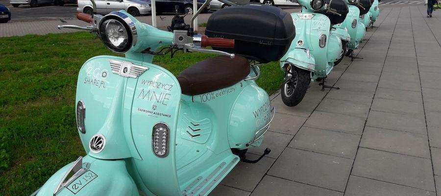 Elektryczne skutery w Olsztynie