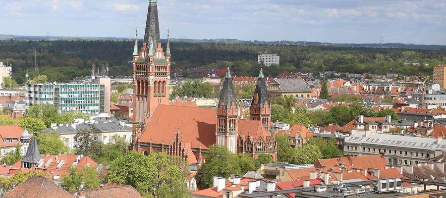 Widok na miasto z Centaurusa