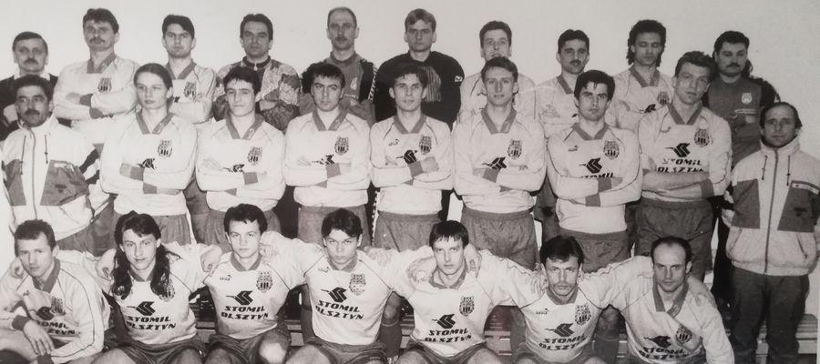 Stomil Olsztyn przed sezonem 1995/96