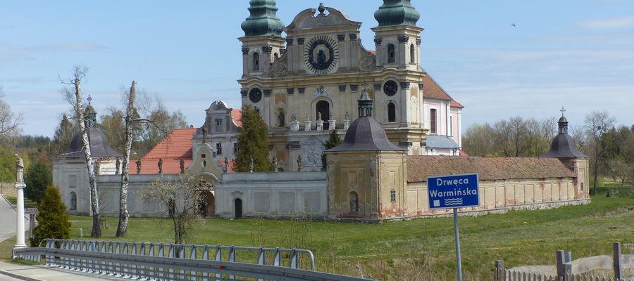 Sanktuarium w Krośnie k. Ornety