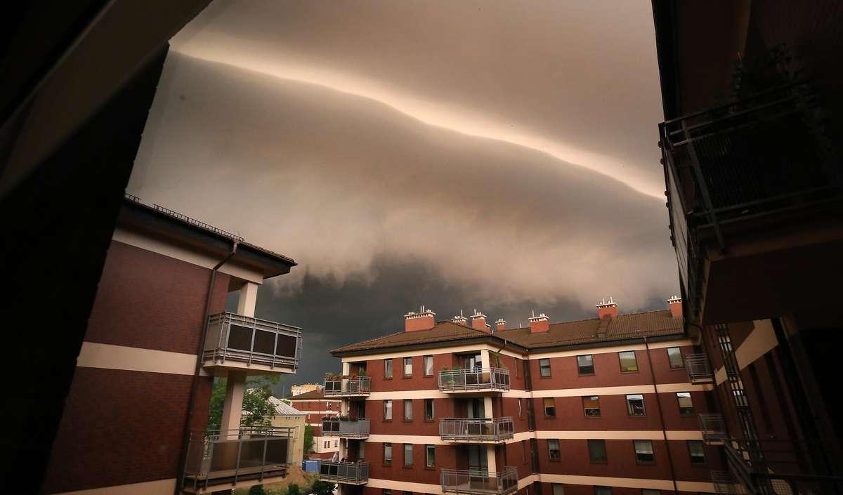 Burza nad Olsztynem