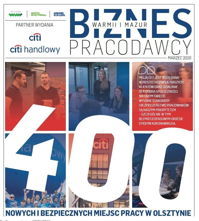 Biznes Warmii i Mazur - Pracodawcy 2020