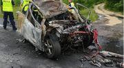 Kierowca zginął w płomieniach [AKTUALIZACJA]