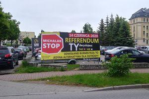 Rada Miejska w Ostródzie apeluje o udział w referendum, partia Lewica Razem za odwołaniem burmistrza Zbigniewa Michalaka