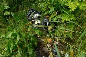 Wędkarz zebrał śmieci do worka. Ktoś inny te śmieci wyrzucił, a worek ukradł