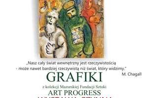 Grafiki Marca Chagalla w Ornecie