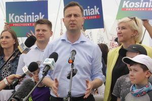 Kandydat na prezydenta Polski odwiedził Giżycko