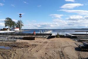 Budowa nowego portu nad Niegocinem na razie stanęła